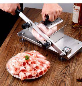 Máy thái thịt bằng tay