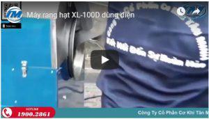 Máy rang hạt XL-100D dùng điện